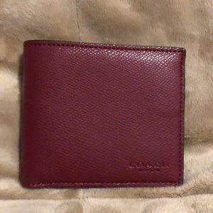 Coach classic men's wallet